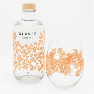 Clover Mineral 50cl Gratis Glas Promopakket