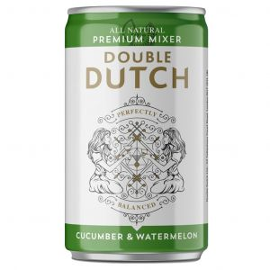 Double Dutch Cucumber & Watermelon Tonic 200ml