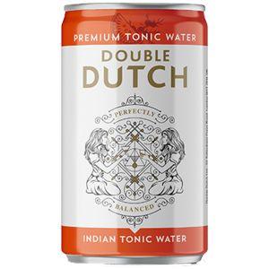 Double Dutch Indian Tonic Water Blikje 150ml