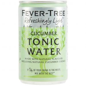 Fever-Tree Refreshingly Light Cucumber Tonic Water 150ml