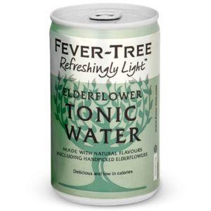 Fever-Tree Refreshingly Light Elderflower Tonic Water 150ml
