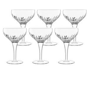 Luigi Bormioli Mixology Cocktail Glasses 6pk