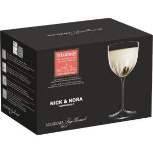 Luigi Bormioli Mixology Nick & Nora Glazen 6pk