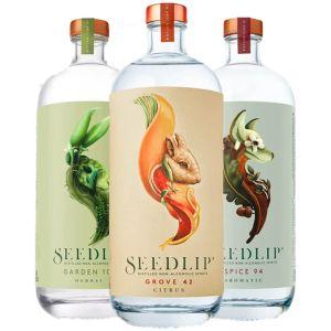 Seedlip Non-Alcoholic Trio Pack 3x70cl