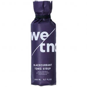Swedish Tonic Syrup Blackcurrant 200ml